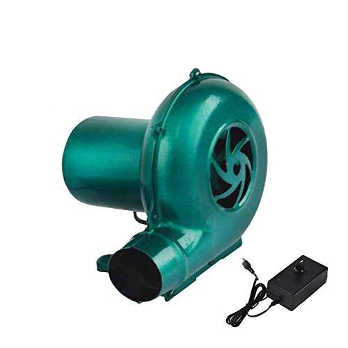 JXS Elektrische draagbare ventilator - 20W kookbarbecue open haard ventilator - uitgerust met gouverneur om windsnelheid te regelen