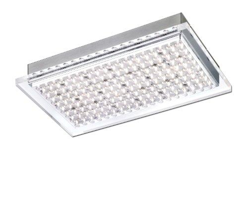 Paul Neuhaus Rechteckige LED-Deckenleuchte Futura 6130-55