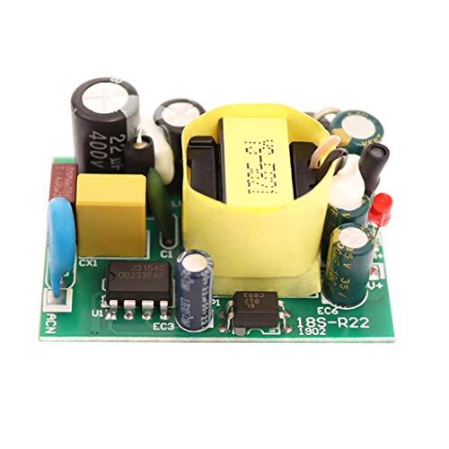 F Fityle 1pc 12V 1.7A Interruptor Módulo de Placa de Fuente de Alimentación Pequeño Volumen Eficiencia