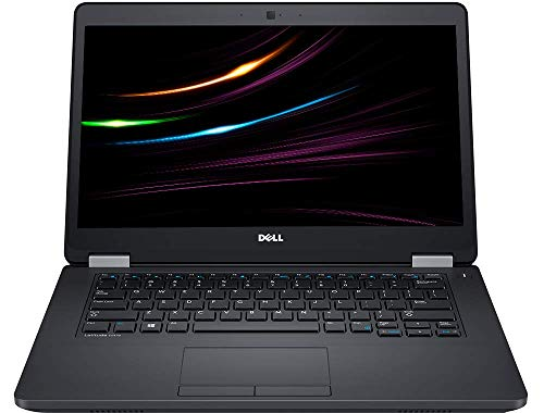 DELL Latitude E5470 Business Notebook, Intel i5 6.Gen 2 x 2.4 GHz Prozessor, 8 GB Arbeitsspeicher, 256 GB SSD, 14.1 Zoll Display, 1366x768, Cam, Windows 10 Pro, 1366 (Generalüberholt)