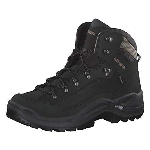 Lowa Herren Renegade GTX Mid Ankle Boot,Schwarz Kiesek 310945 9995,45 EU