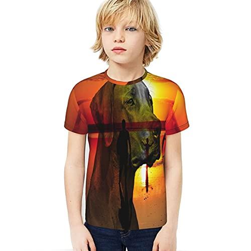 Popsastaresa Photoshop Youth Camiseta de cuello redondo