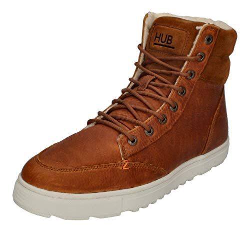 Hub Dublin L30 Merlins Leather Cognac Off White 45