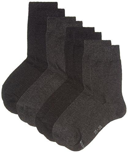 s.Oliver Socks Herren s20028 Socken, Grau (Grey 10), (Herstellergröße: 43/46) (4er Pack)