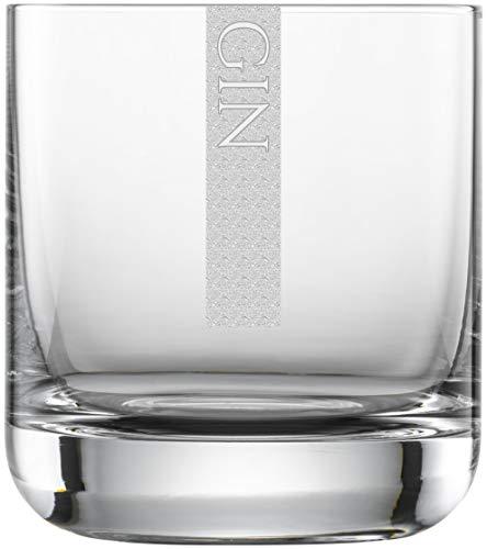 Miriquidi Gin Gläser 2er Set Serie Cool mit Gravur Gin | auf 300ml Schott Zwiesel Convention Nr. 60 Glas | Spülmaschinenfest | Ginglas mit Lasergravur 2 Stück