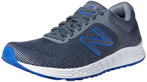 New Balance Men's Fresh Foam Arishi V2 Running Shoe, Lead/Royal, 7 XW US