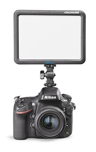 Cullmann culight V 170bc lámpara LED de vídeo para cámaras de Foto y vídeo (170Lux, 116eyeprotect ledes, 3000–5000K) 175x 188mm Negro