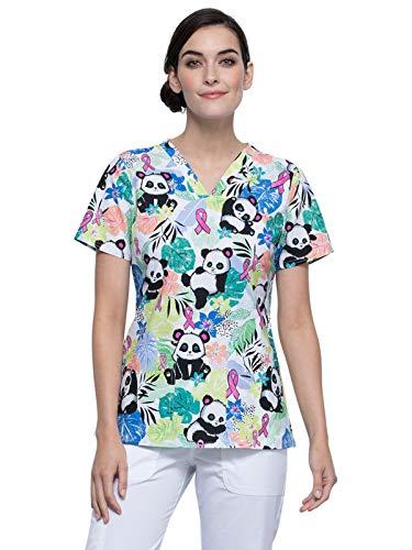 CHEROKEE V-Neck Kasack, Schlupfhemd mit Motiv Garden Panda (2XL)
