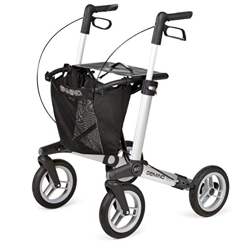 Sunrise Medical Gemino 30 M Comfort Outdoor-Rollator silbergrau
