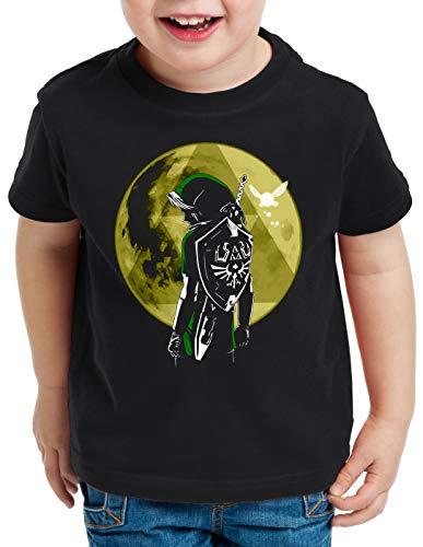 style3 Link Triforza Luna T-Shirt per Bambini e Ragazzi Switch Principessa Awakening, Dimensione:152