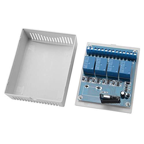 Chanmee Control Remoto inalámbrico Yk-4, Control Remoto inalámbrico Yk-4 Estable de Montaje en Pared, Alta sensibilidad inalámbrica confiable para Puertas automáticas, Ventanas,(24VDC)