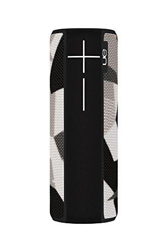 Ultimate Ears Boom 2 Tragbarer Bluetooth-Lautsprecher, 360° Sound, Wasserdicht und Stoßfest, App-Navigation, Kann mit weiteren Lautsprechern verbunden werden, 15-Stunden Akkulaufzeit - shape of grey