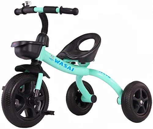 Archivadores Infantil Caballo Trikes Triciclo Niño Bicicleta del niño del Triciclo del Cochecito de Bell de la Bicicleta Bici del bebé del Triciclo Adecuado niños 1-3-6 años Artículos de Oficina