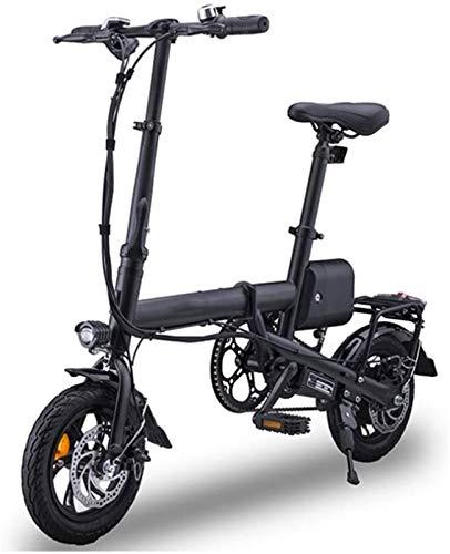 Bicicletas Eléctricas, Plegable bicicleta eléctrica for los adultos, Frenos de disco doble...