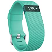 Fitbit Charge HR Wireless Activity Wristband, Large (6.2 - 7.6 Inch)