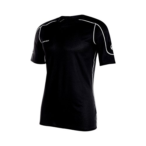 Mammut Go Dry T-Shirt Manches Courtes Homme, Noir, FR (Taille Fabricant : XS)