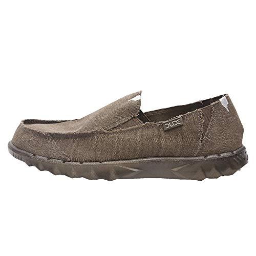 Dude Shoes Herren-Farty Rohschnittschokolade UK10 / EU44