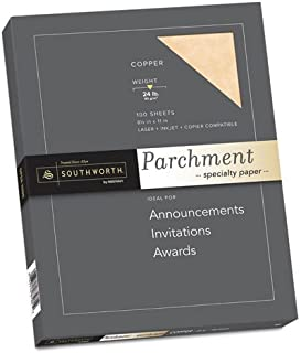 """$20 » Southworth - Parchment Specialty Paper Copper 24 Lbs. 8-1/2 X 11 100/Box """"Product Category: Paper & Printable Media/Loose ..."""