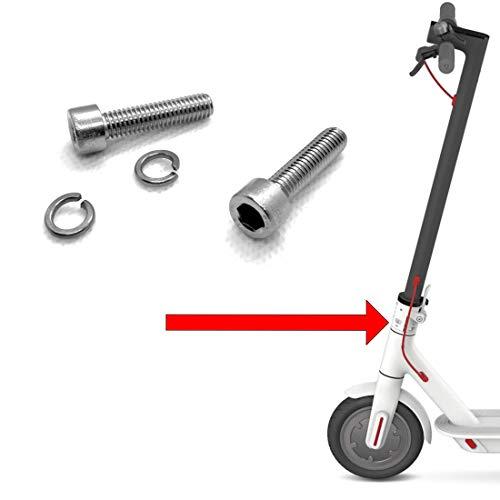 Geekily Tornillos y arandelas de sujeción para scooter M365 mecanismo plegable