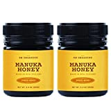SB Organics Manuka Honey MGO 400+ - 2 Pack 8.8 oz Jars of Raw...