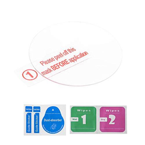 kdjsic Displayschutzfolie Schutz aus gehärtetem Glas Klarfolie Explosionsgeschützt für Garmin Forerunner 645 Smart Watch
