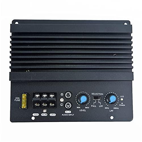 JYDQB Amplificador de Potencia de Audio Mono para Coche de 12v 1000w, potentes subwoofers de Graves, Placa de Amplificador de Coche, Altavoz de Coche, amplificadores de subwoofer Auxiliar