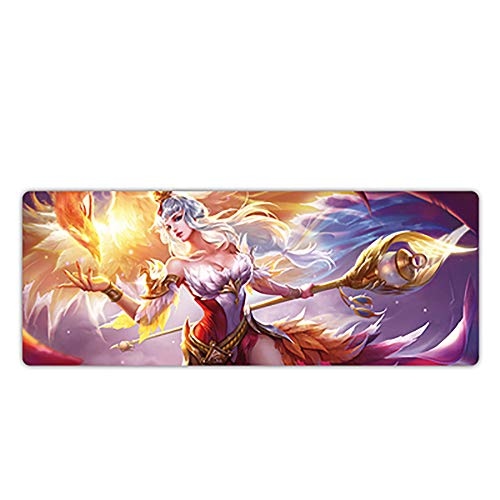 XCCV Gaming Mouse Mat XXL800x300mm Speed ​​Gaming Mouse Pad - Non-Slip - Durable - Perfect Mouse Pad Precision for Gaming Mat for Computer, PC and Laptop-11