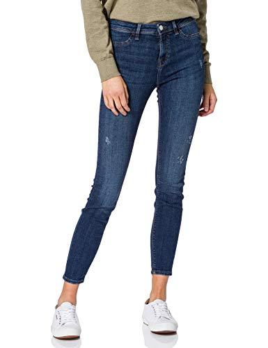 edc by ESPRIT Damen Jeggings Skinny Fit Jeans, 902/BLUE MEDIUM WASH, 29/30