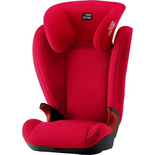 Britax Römer Kindersitz 3,5 - 12 Jahre I 15 - 36 kg I KID II Autositz Gruppe 2/3 I Fire Red