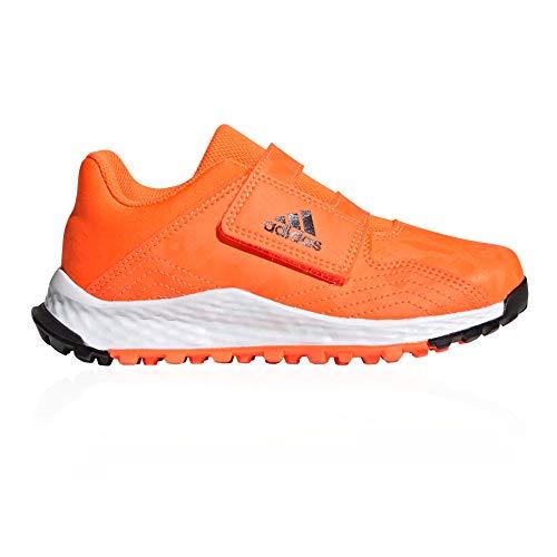adidas Youngster Junior Niños Astro Field Hockey Zapatillas Naranja, color Naranja, talla 27.5 EU