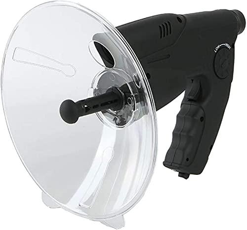 Microfono parabolico Monoculare, Monoculare X8 Ingrandimento dell'orecchio bionico Amplificatore del suono monoculare, orecchio bionico Telescopio per l'ascolto di uccelli a lungo raggio 200M, pe