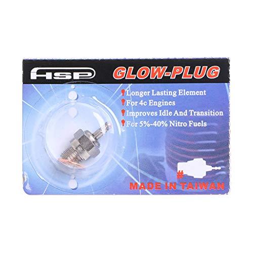 KINTRADE HSP N3 N4 Bujía de precalentamiento 70117 para Control Remoto RC Coches Nitro Modelo 4C Motores