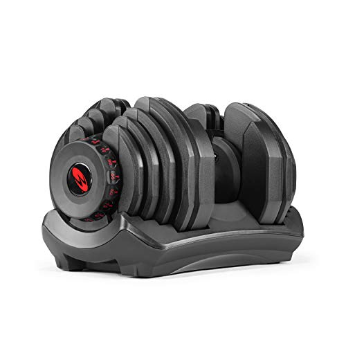 Bowflex SelectTech 1090 Ajustable Dumbbell (Single), Negro
