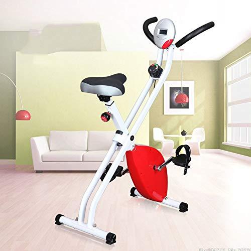 Cyclette/ergometro Ripiegabile, Magnetico, per Allenamento Fitness, Cardio, Workout e Perdita di Peso