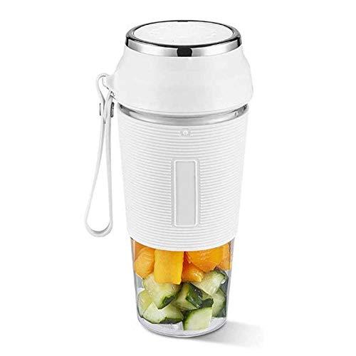 Adesign Mezclador de Blender Portátil, Mini Mezclador Mini Fruta de Mini Blender, Juicer Cup Mini Blender Personal Mini Blender para Smoothie, Shakes, Fruits and Baby Food, BPA Gratis