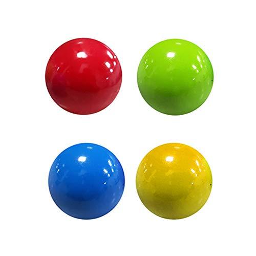 Lood Bola pegajosa, 4/8 piezas, manta descomprimida, pelota antiestrés, juguete antiestrés, juguete antiestrés, juguete divertido para niños y adultos
