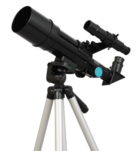 TwinStar 60mm Refractor Telescope 300mm Focal Length | 15x...