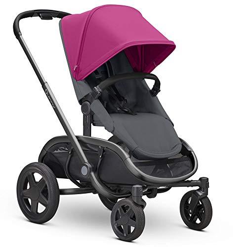 Quinny Hubb Mono XXL - Silla de compras, color rosa y gris