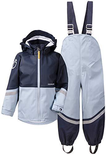 Didriksons - Regenanzug für Kinder - Waterman - Hellblau/Dunkelblau
