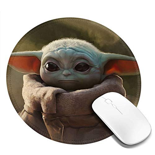 Mouse pad Round Gaming Mouse Pad Waterproof Non-Slip Mouse Pads 7.9x7.9 Inch