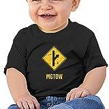 BNUVJ Mgtow Girl's Boysbaby'S Cotton T-Shirt Tees Black