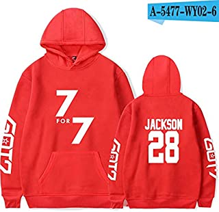 40 Styles hot Korean couples GOT7 Call My Name ACKSON High Quality Coat Tops loose thin coat hoody printed hoodies men/women Sweater boy/girl teenager clothing fleeces
