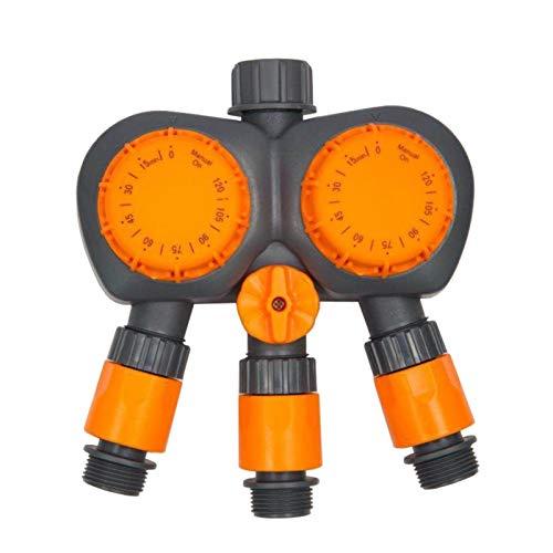 SCAYK Sistema Controlador de riego automatizado Contador de Tiempo mecánico de riego Temporizador 3 2 Cabeza Puerto