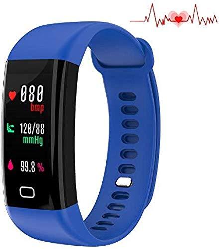SSXZ Fitness Tracker, Pulsmesser IP67 Wasserdichter Aktivitäts-Tracker, Schlaf-Blutdruck-Sauerstoff-Messgerät, Kalorien, für iOS Android