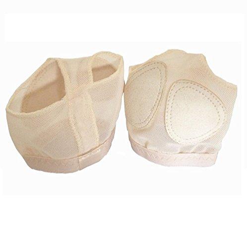 Almohadillas Tanga para Ballet - para Danza para Niñas Zapatillas Zapatos Toe Ballet danza del Vientre Antepié Cojín Tamaño S