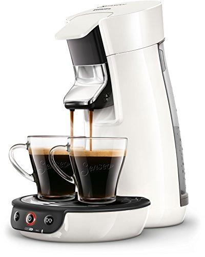 Senseo Viva Café HD7829/00 Pod coffee machine 0.9L 2tazas Color blanco - Cafetera (Independiente, Totalmente automática,...