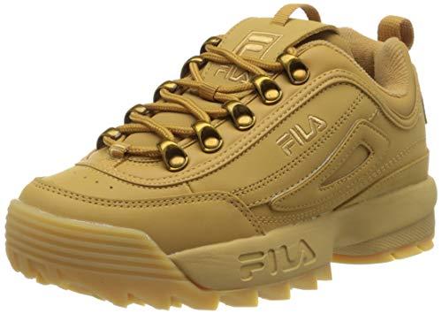 Fila Disruptor Clay Low Wmn, Zapatillas Mujer, Marrón (Brown 1010535-Edu), 37 EU