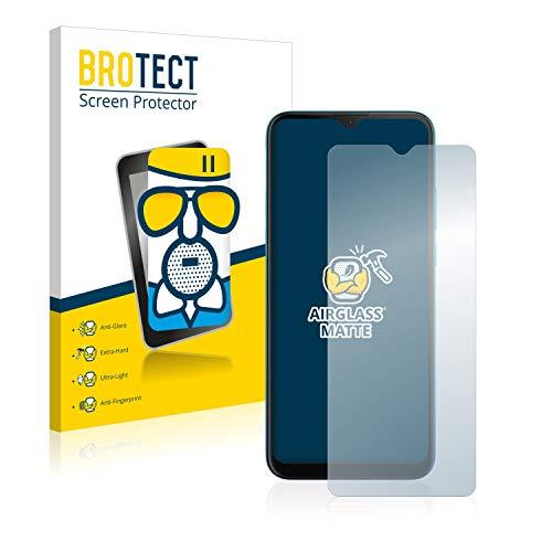 BROTECT Entspiegelungs-Panzerglasfolie kompatibel mit Motorola Moto G8 Power Lite - Anti-Reflex Panzerglas Schutz-Folie Matt