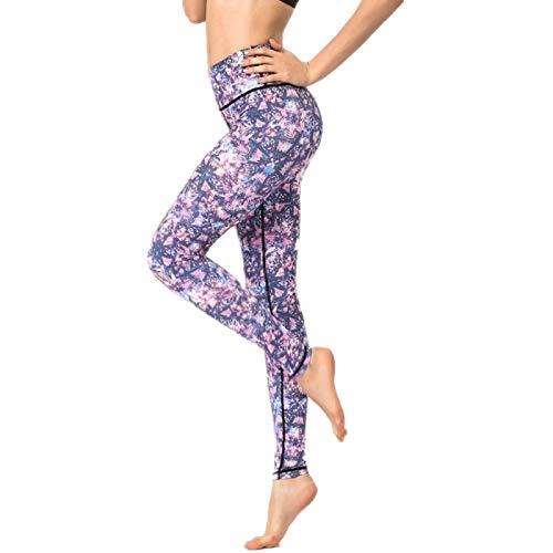 NIGHTMARE Pantalones de Gimnasio para Mujer, sensación Desnuda, Cintura Alta, Deportes Ligeros, Yoga, Mallas de Gimnasio, Pantalones de Yoga elásticos de Potencia M