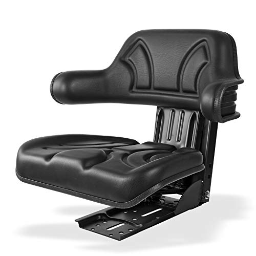 Traktorsitz/Schleppersitz schwarz mit Armlehne ECO 102